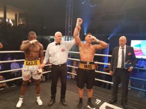 Ducar  Shocks Kadje/Boudersa Wins Vacant Title