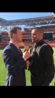 Mundine hoping to go out on a winning note, Horn wants respect