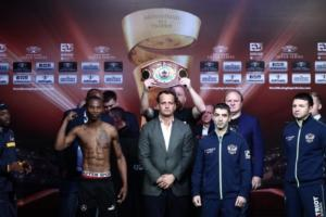 Boxers Make Weight In Ekaterinburg