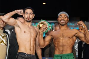 Garcia And Porter Make Weight In Brooklyn