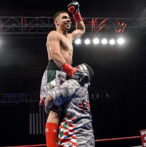 Aaron Perez Passes Tough Test In Albuquerque