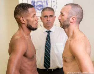 Barrera And Monaghan Weigh In For Brooklyn Battle