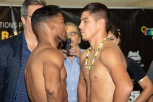 Yuriorkis Gamboa and Miguel Beltran Make Weight in Miami