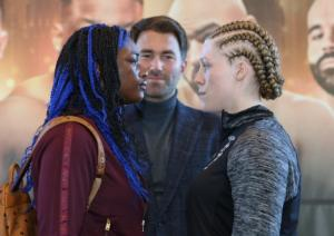 Hannah Rankin Excited To Be Challenging Claressa Shields