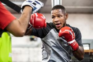 Barrera And Monaghan Work Out In Brooklyn