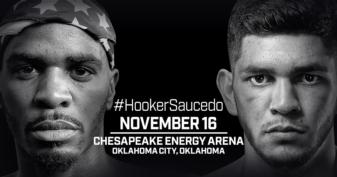 Oklahoma City's Saucedo looking for hometown, world title win against Hooker