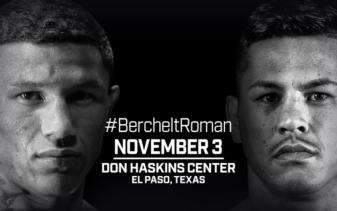 El Paso media workout: Miguel Berchelt and Miguel Roman prepare for battle