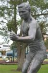 Restored Les Darcy Tribute Unveiled in East Maitland