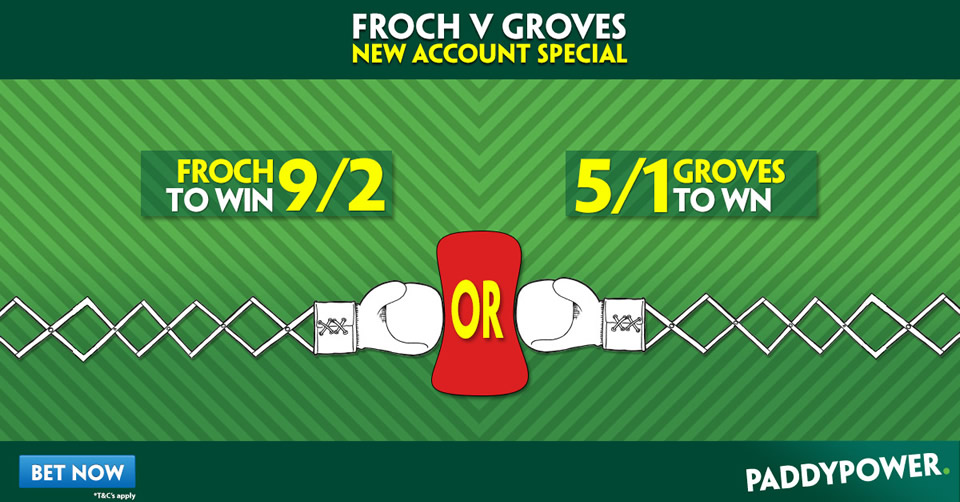Bet on Froch vs Groves 2 NOW