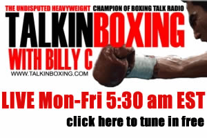 Talkin Boxing With Billy C Live