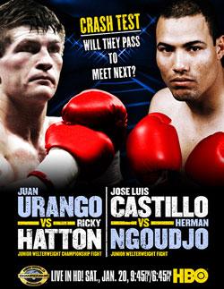 Hatton v Castillo is in HBO's 07 plans